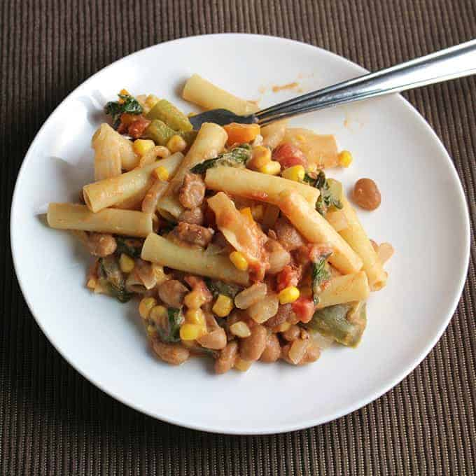 Cinco de Mayo Pasta recipe from Cooking Chat