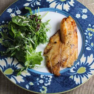 Simple Grilled Tilapia #SundaySupper