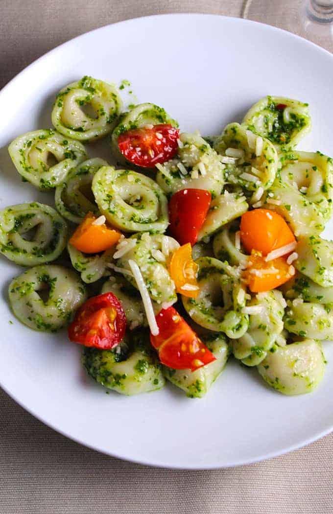 Kale Pesto Tortellini