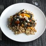 Turkey Sausage with Kale and Quinoa, healthy recipe from Cooking Chat