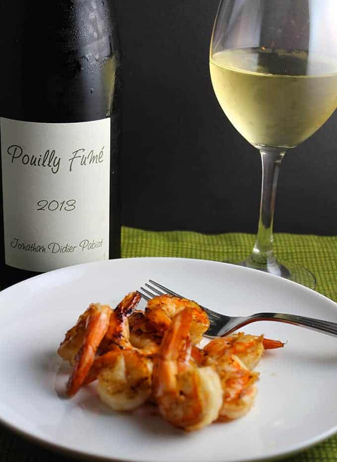Grilled Shrimp with a Pouilly-Fumé