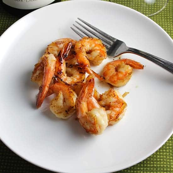 Simple Grilled Shrimp recipe