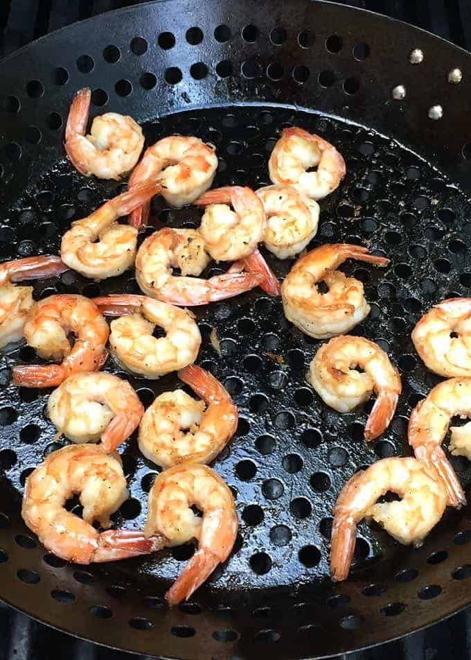 grilling shrimp to pair with a Pouilly-Fume