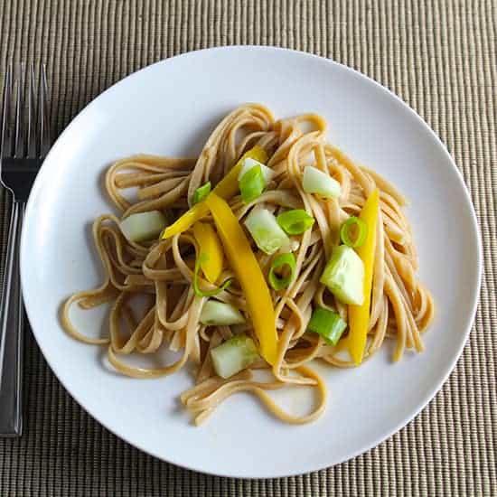 Soynut Butter Noodles