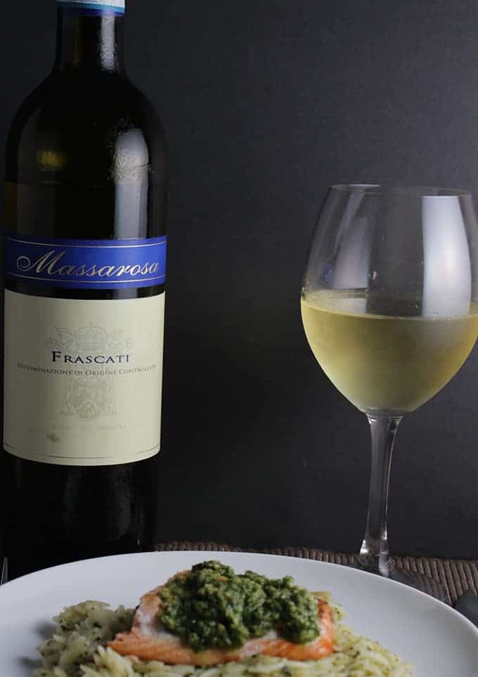 2012 Massarosa Frascati Italian white wine