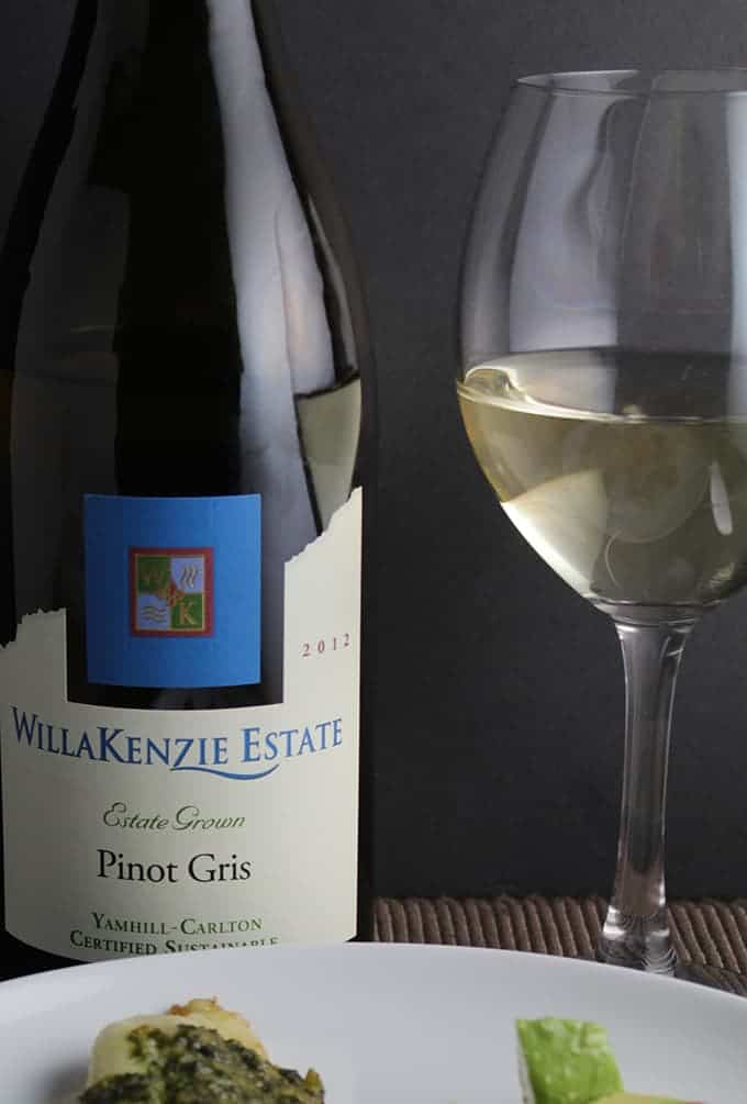 WillaKenzie Pinot Gris, a Cooking Chat American wine for the 4th of July pick.