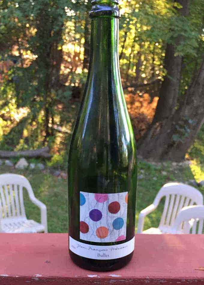 Jean-Francois Merieau Touraine Sparkling Wine | cookingchatfood.com