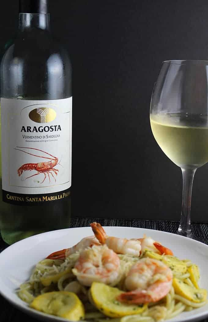 Aragosta Vermentino Di Sardegna is a great wine to serve with shellfish or to sip on a warm summer evening.