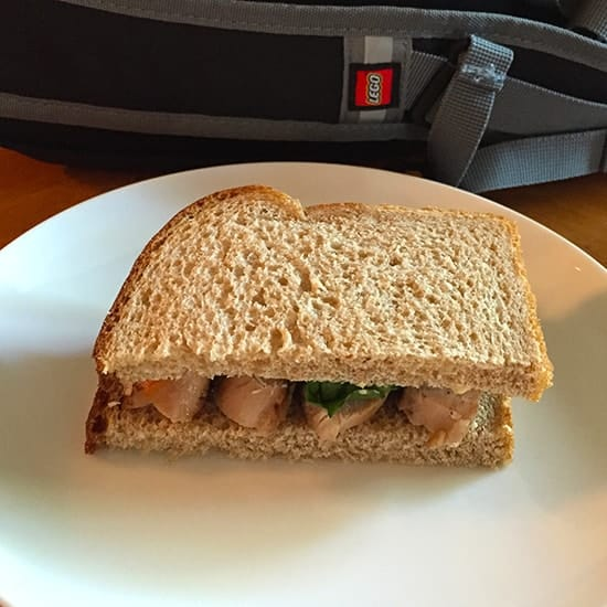 A Grilled Chicken Sandwich makes a healthy back to school lunch option. | cookingchatfood.com
