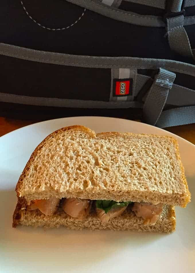 Grilled Chicken Sandwich for a back to school #SundaySupper.   cookingchatfood.com