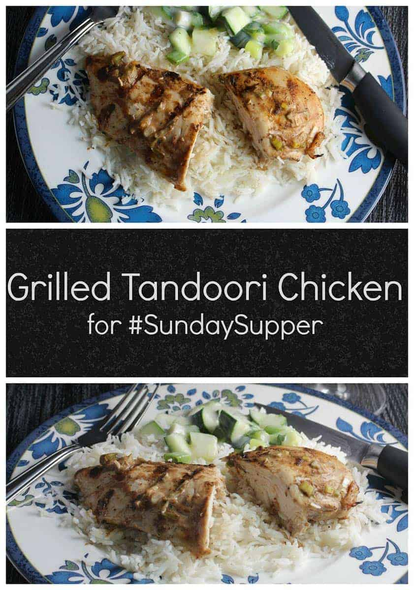 Spice up your grilling routine with this easy Grilled Tandoori Chicken recipe!