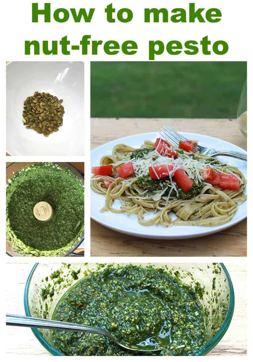 How to make nut-free pesto: recipe and tips from cookingchatfood.com