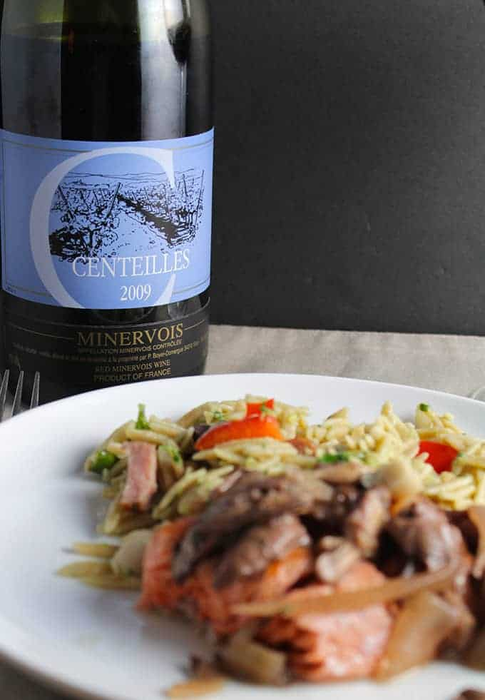 Clos de Centeilles, a Cooking Chat October wine pick.