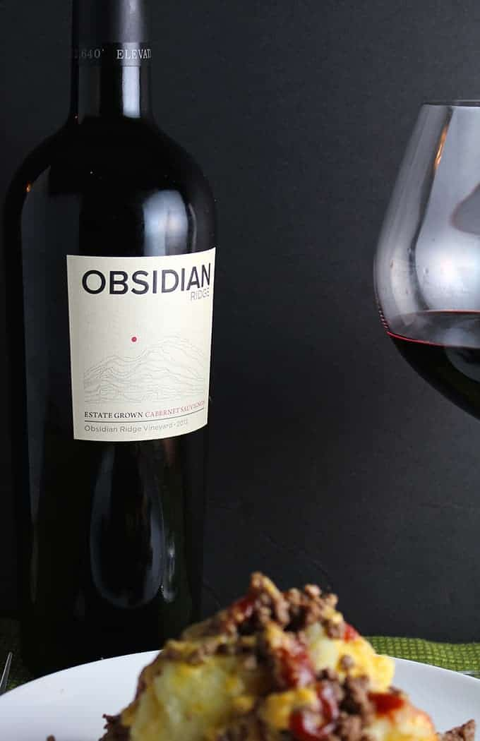 Obsidian Ridge Cabernet Sauvignon, a Cooking Chat October wine pick | cookingchatfood.com