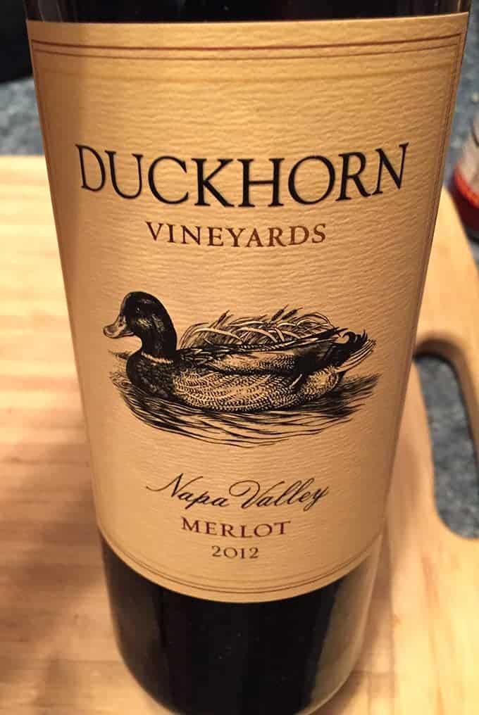 2012 Duckhorn Merlot is a great bottle of wine.