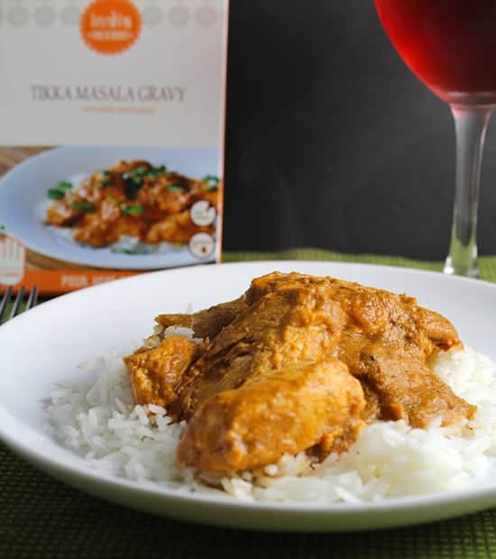 chicken tikka masala from India in a Box