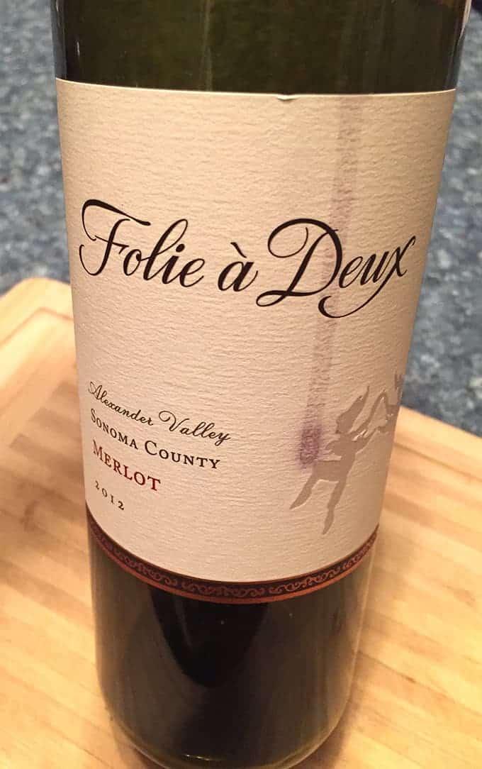 Folie a Deux Sonoma Merlot is a good wine value.