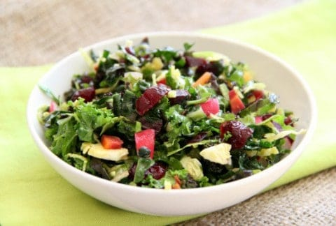 Kale Chopped Salad from Shockingly Delicious