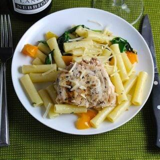 Ziti with Swordfish and Truffle Butter