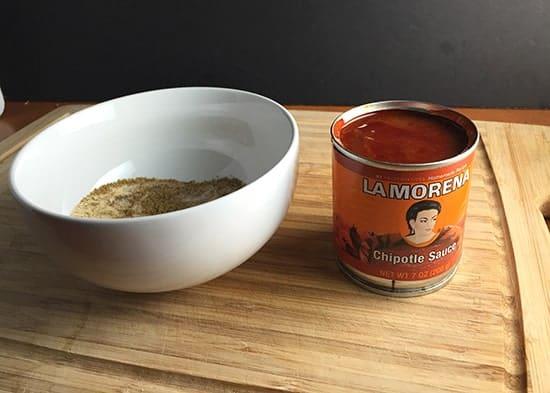 La Morena Chipotle Sauce for Pork Spice Rub | cookingchatfood.com