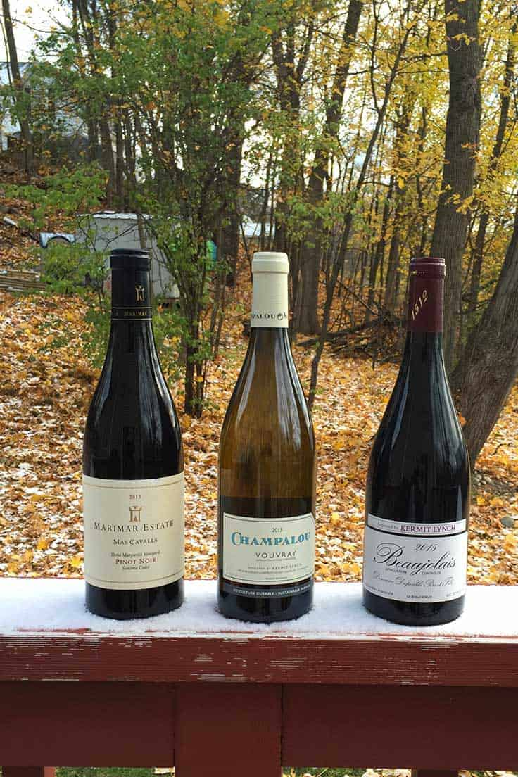 Thanksgiving Wine Picks: a variety of red and white wine choices at a variety of prices for the big feast.