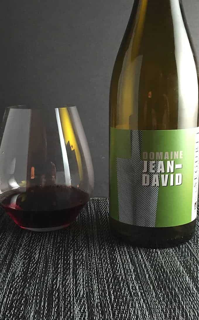 Domaine Jean David Seguret is an excellent Cotes du Rhone wine, pairs well with rustic chicken and sausage stew. | cookingchatfood.com