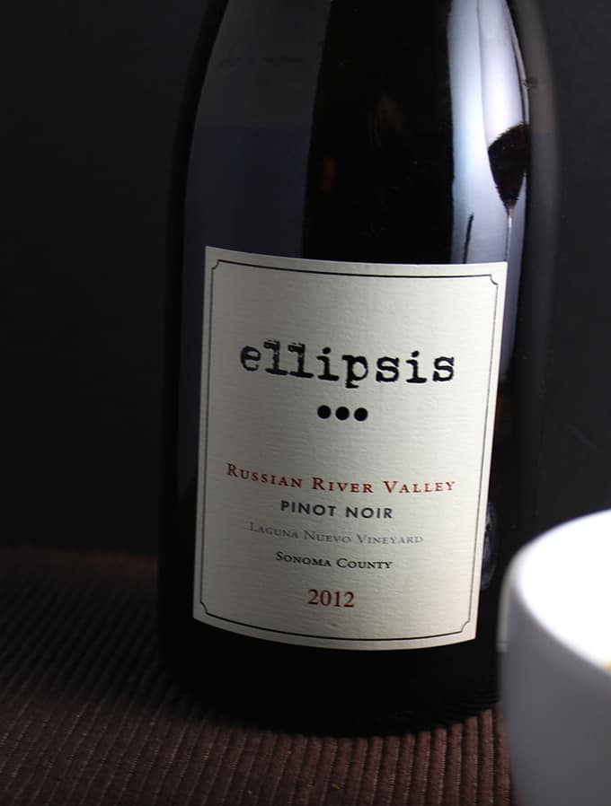 2012 Ellipsis Pinot Noir from Sonoma County is a great value for under $20 and could be a good Thanksgiving wine choice | cookingchatfood.com