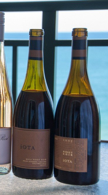 Iota Pinot Noir, a Thanksgiving wine pick from foodwineclick on cookingchatfood.com