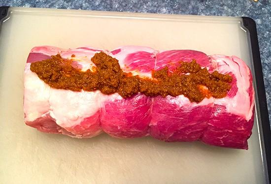 pork roast with chipotle spice rub