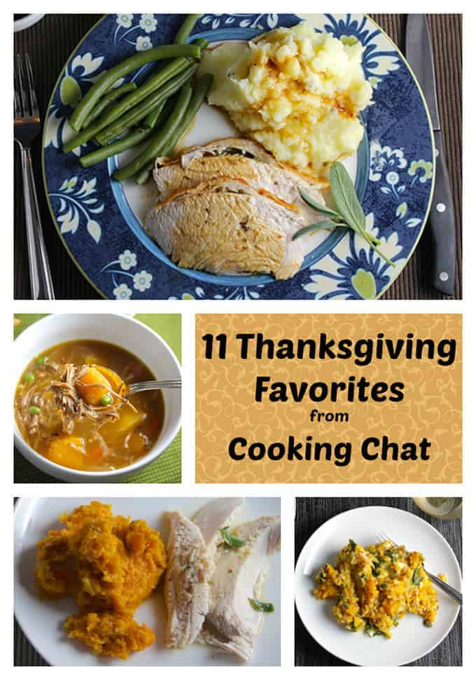 11 Thanksgiving Favorite Recipes from Cooking Chat | cookingchatfood.com