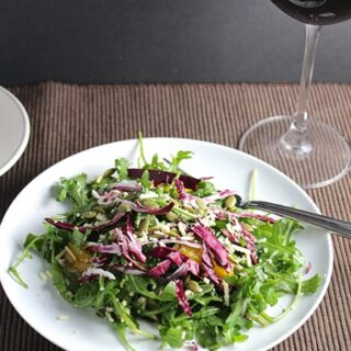Tuscan Inspired Arugula Salad
