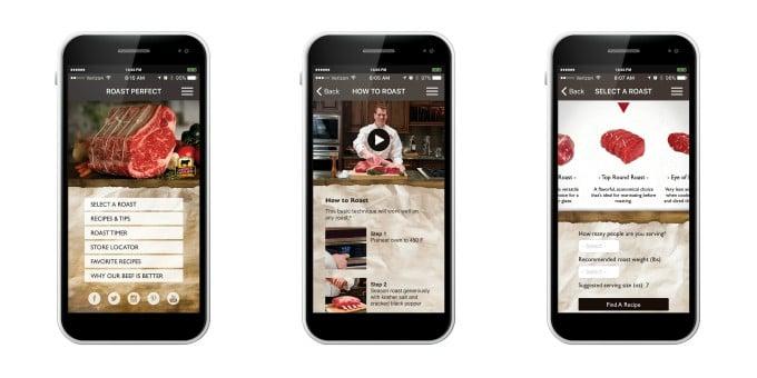 Roast Perfect App Collage