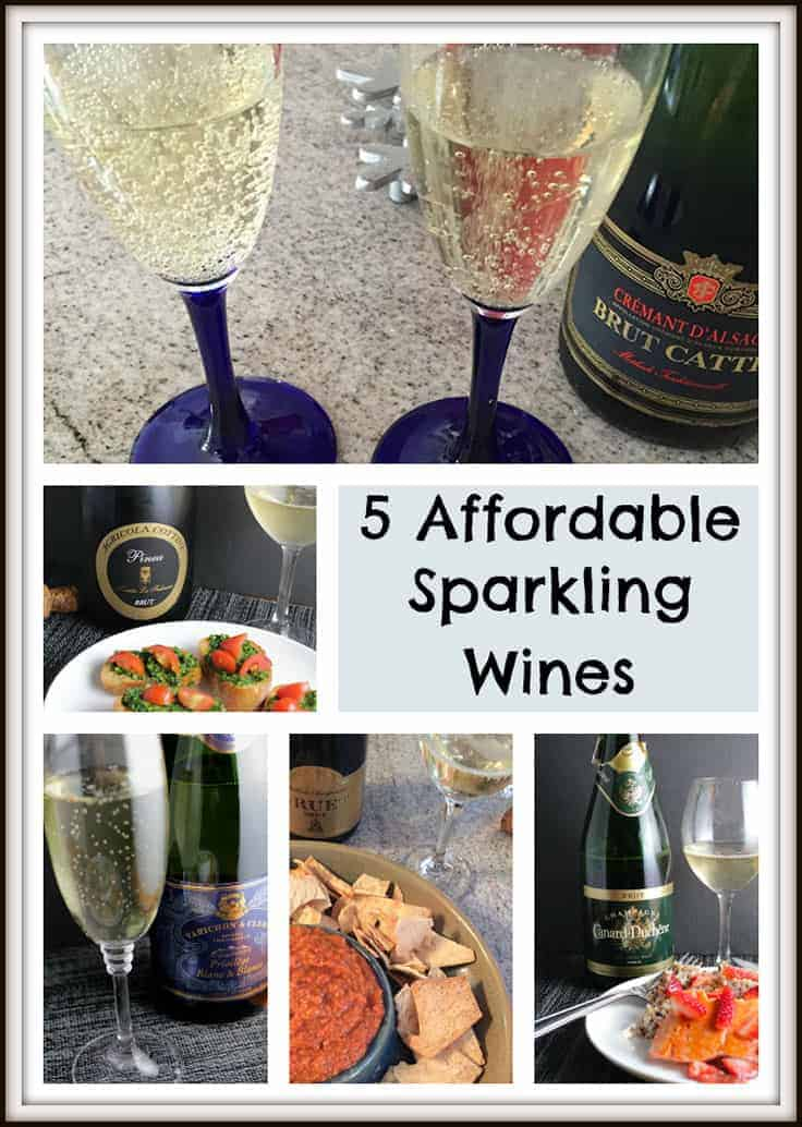 5 affordable sparkling wine picks for New Year's or any other time you want to enjoy some good bubbly without breaking the bank.