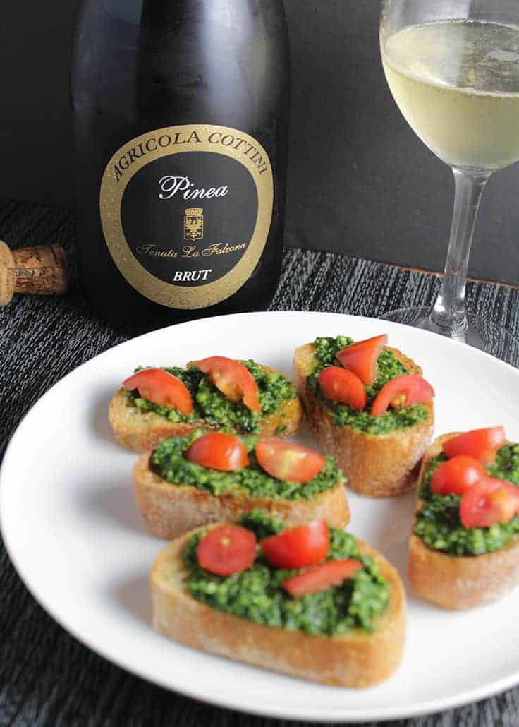 Delicious sparkling wine from Agricola Cottini is an affordable option for holiday entertaining.