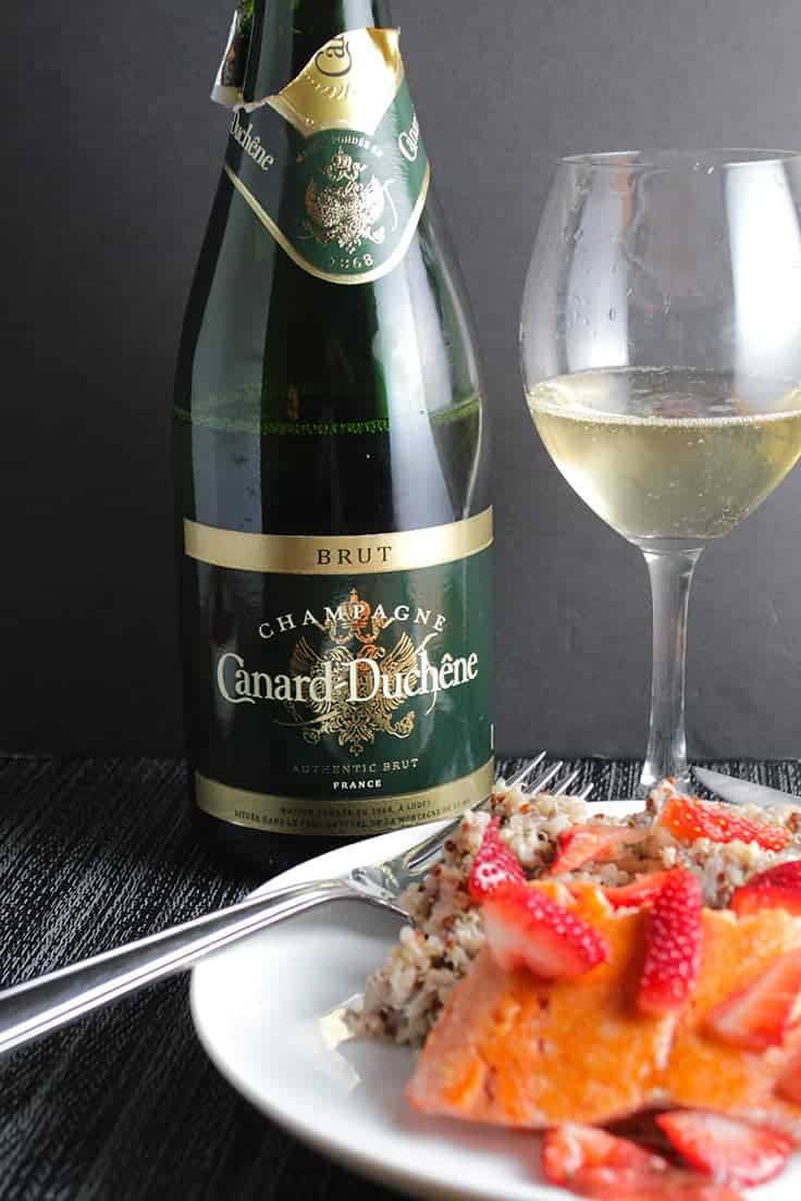 Canard-Duchene is a delicious and affordable bottle of authentic Champange.