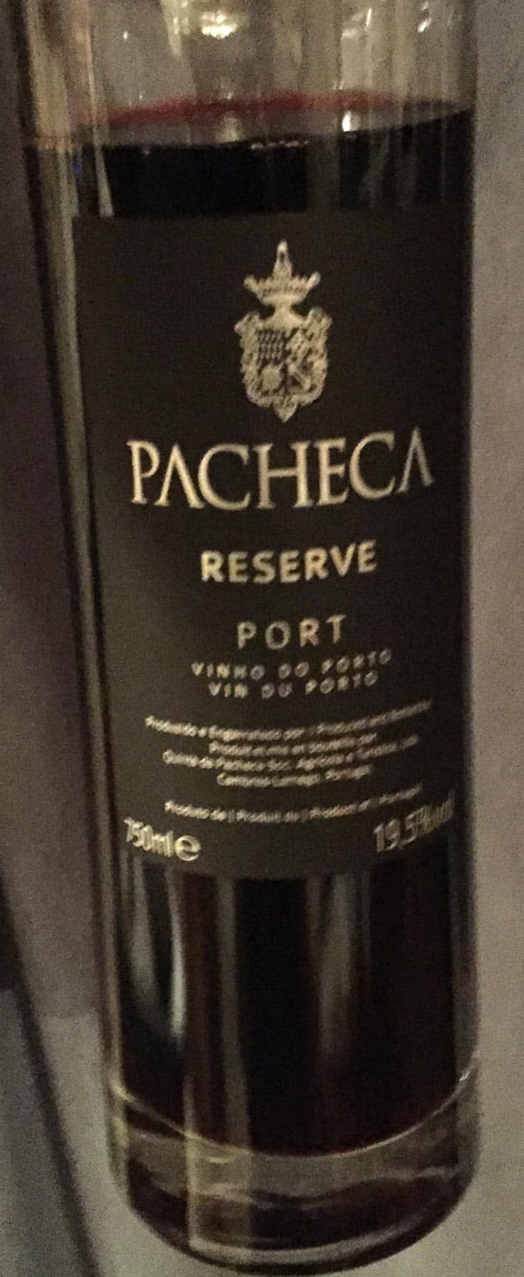 Pacheca Reserve Port is a nice way to finish a chilly winter evening. A Cooking Chat wine of the month pick.