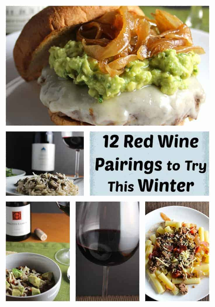 12 red wine pairings to keep you warm on a cold winter night!