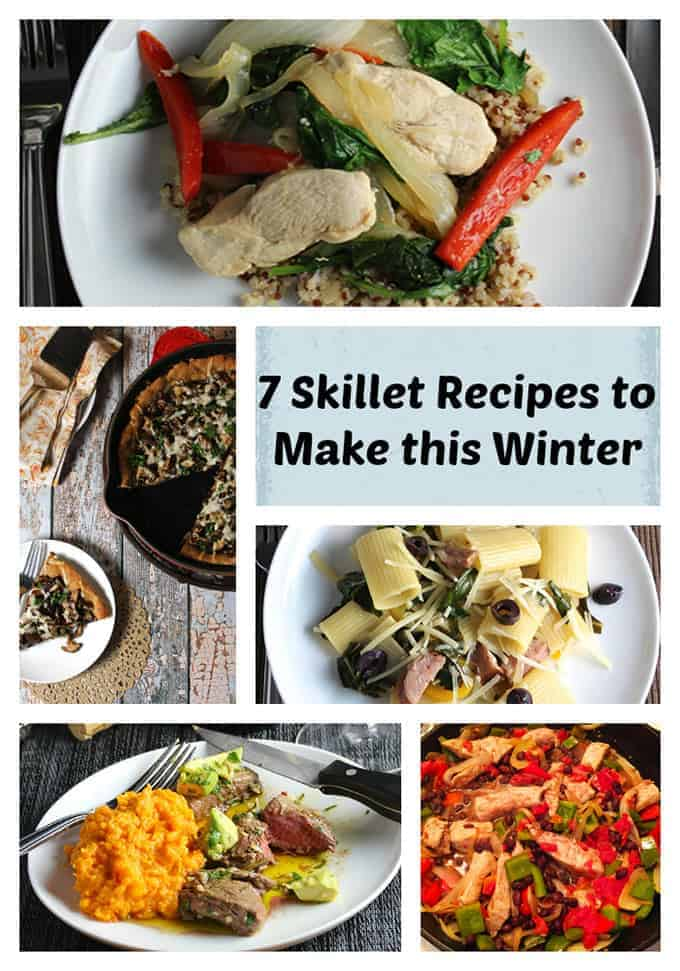 7 delicious recipes to make in a skillet this winter, from roasted meats to savory pasta dishes.