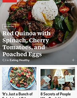 flipboard for food bloggers screen shot