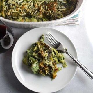 Kale Pesto Lasagna