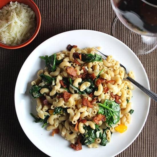 pasta with pecorino and bacon recipe