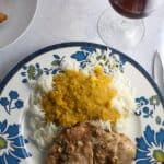 easy Indian feast with Italian wine