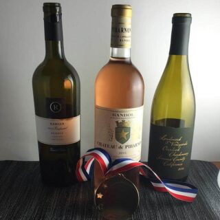 lineup of special wines