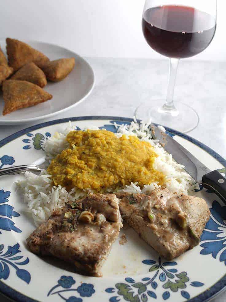 An Italian wine for an Easy Indian Feast.