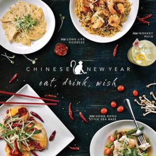 P.F. Chang's Chinese New Year Menu
