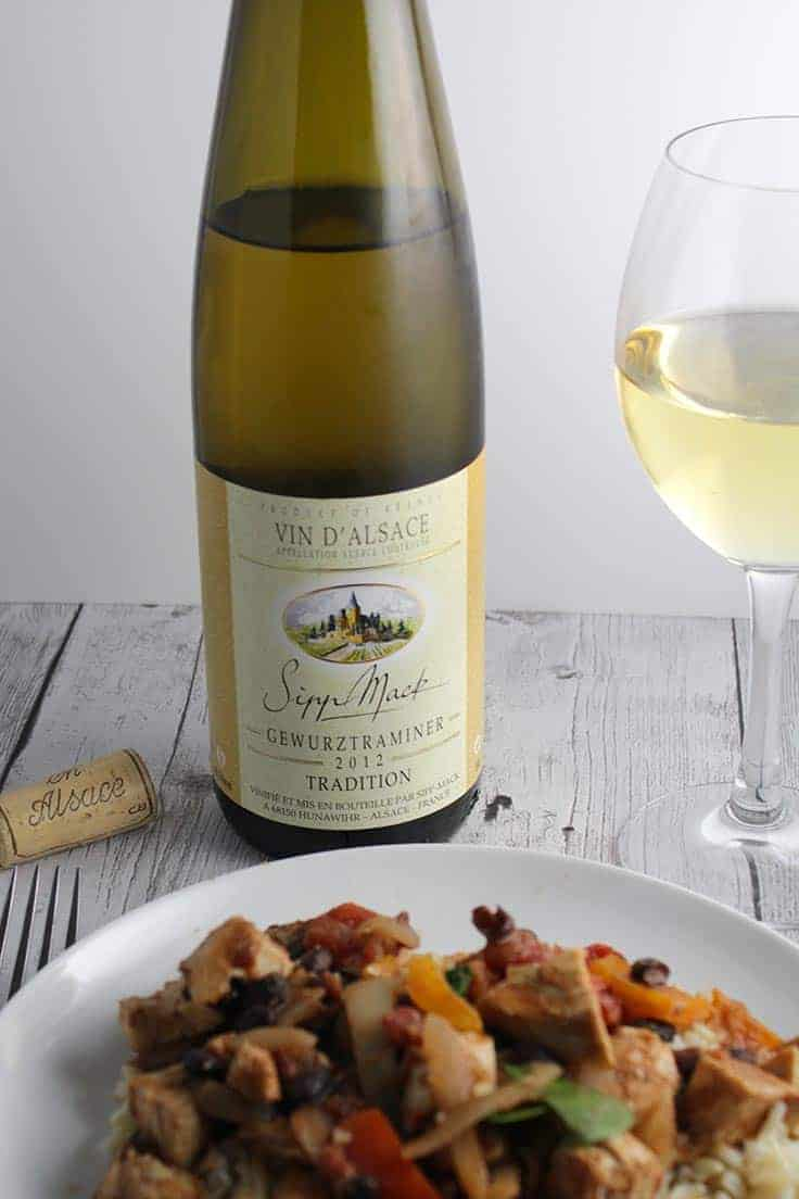 2012 Sipp Mack Gewürztraminer Tradition is a delicious wine from Alsace with taste of honey and pear. Great wine choice to serve with spicy food.