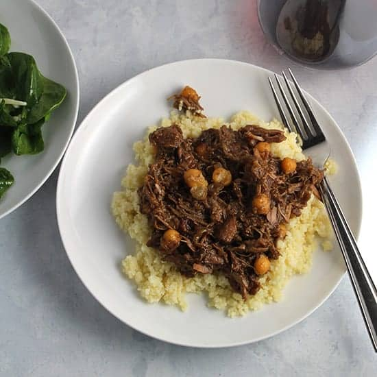 Apricot Lamb Tagine recipe