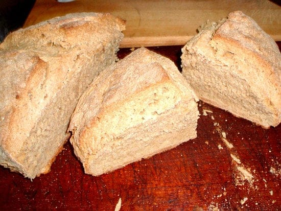 brown bread featured in Real Irish Food article.