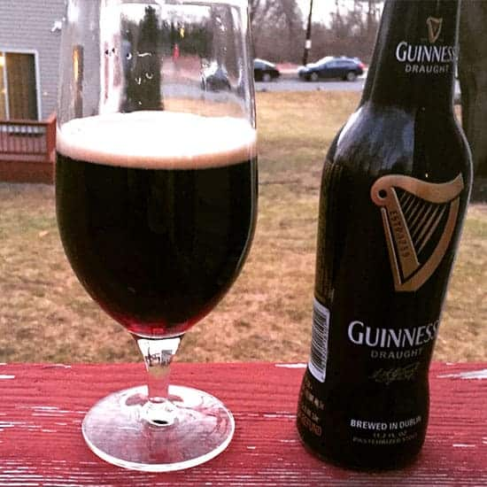 Guinness in a glass