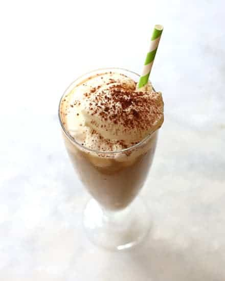 Iced Irish Coffee from real Irish food post.